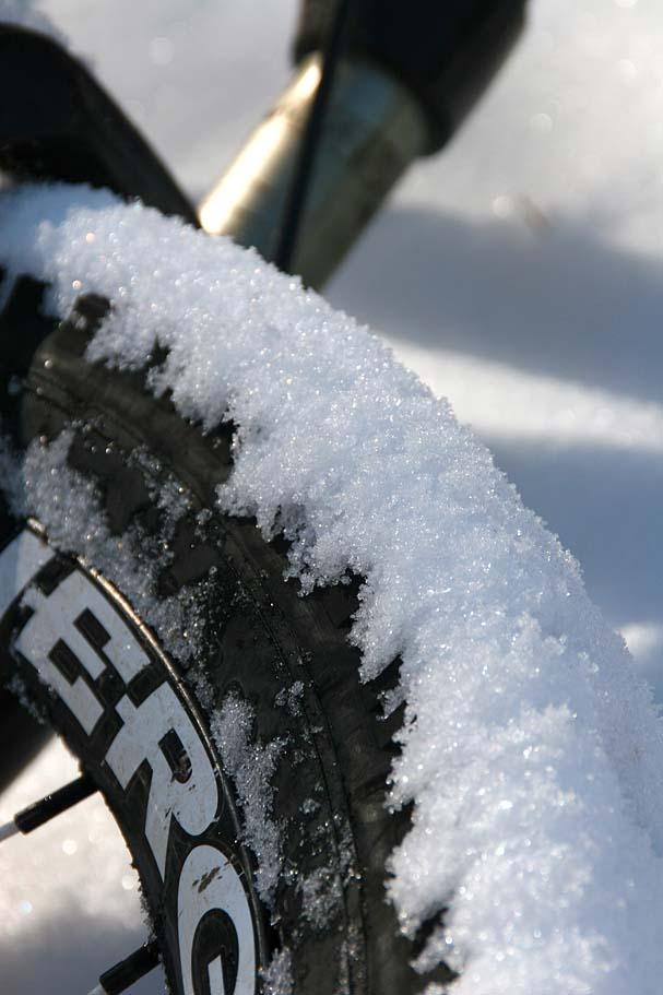 Snowy Tires