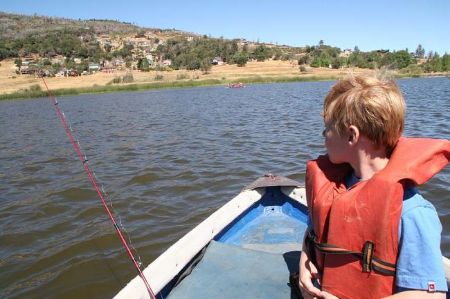 The ramblings of mtbbill blog archive blt fun with the for Lake cuyamaca fishing