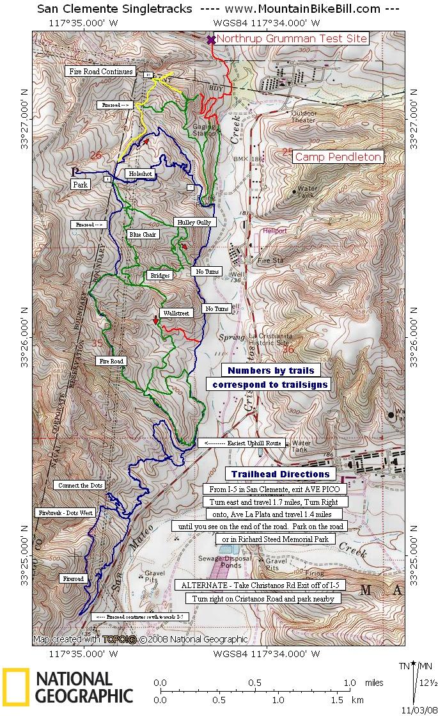 trails in orange county  u2013 share mountain bike club