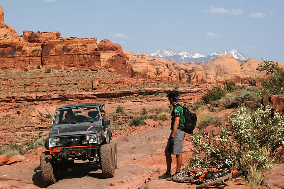 introductory ride in Moab,