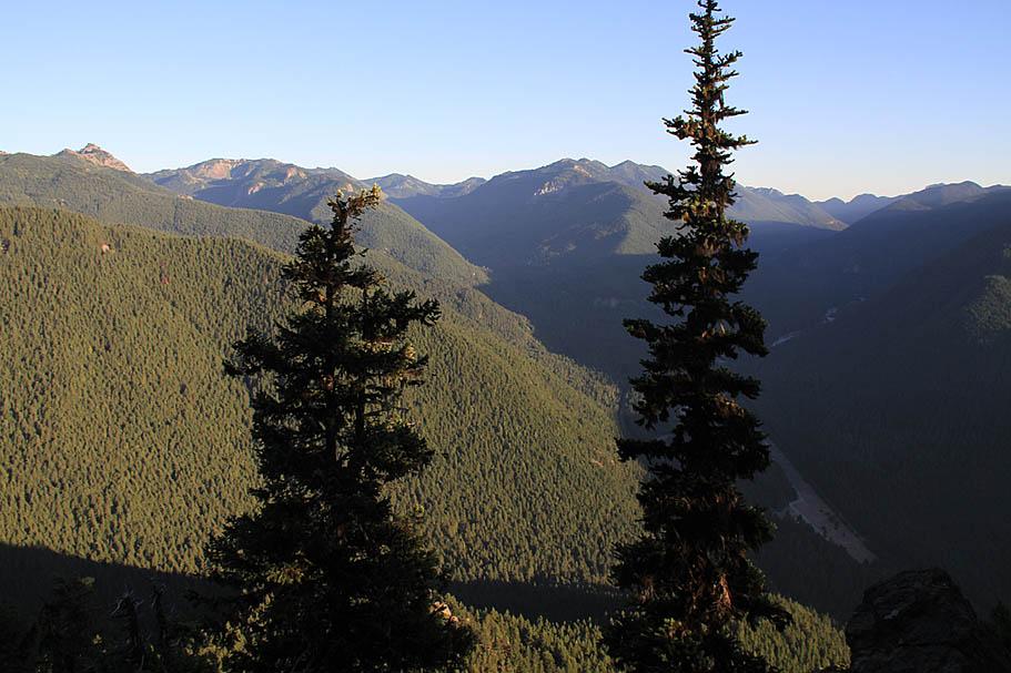 Palisades Trail wa Palisades Trail Mountain