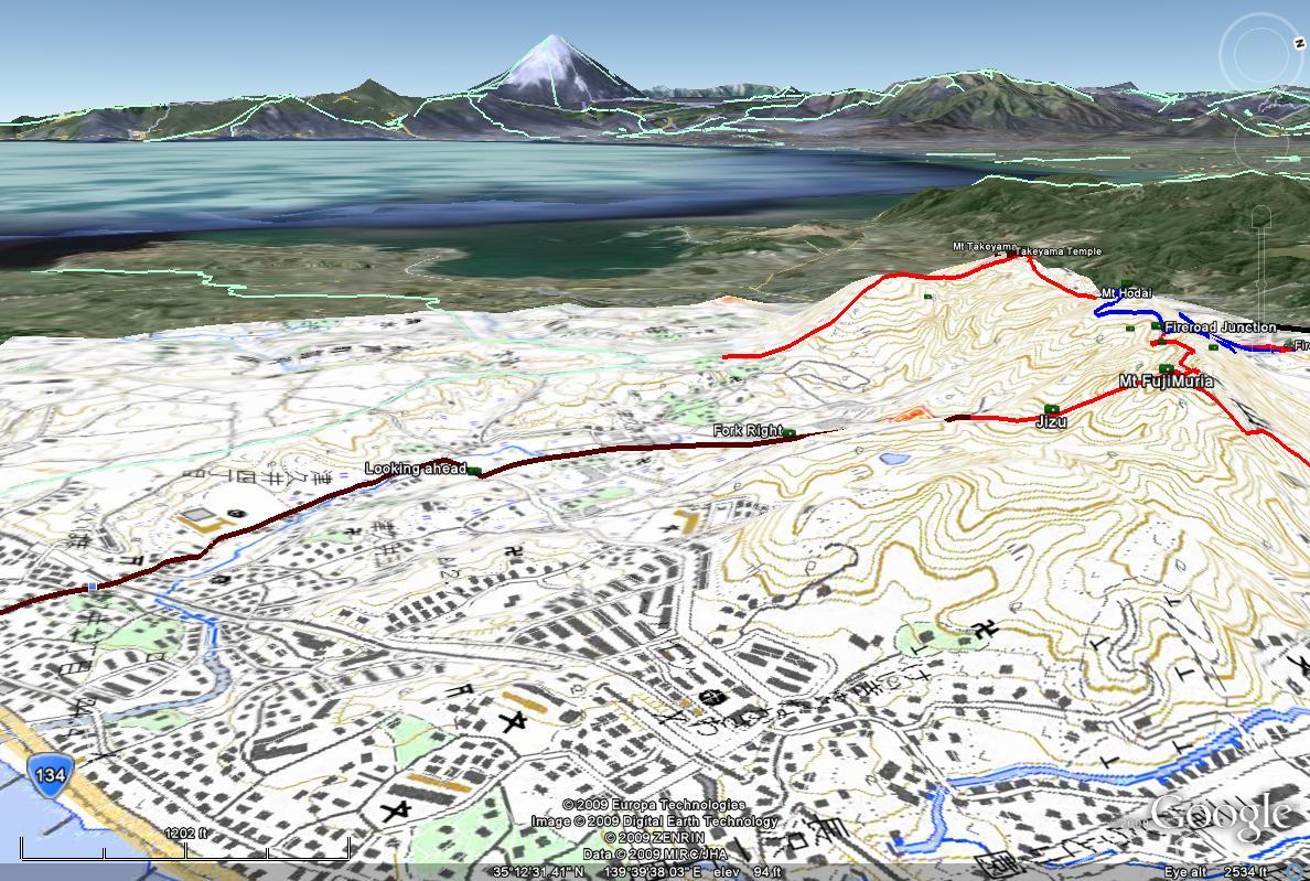 Mountain Biking Takeyama on the Muria Pennisula of Japan